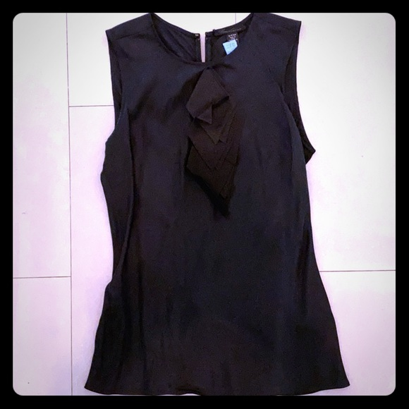 Kenneth Cole Tops - Black Kenneth Cole Silk blouse